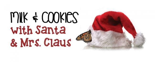 Milk Cookies With Santa At Cambridge Butterfly Conservatory Kids